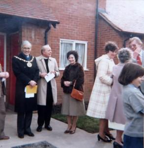 Alvechurch Almhouses Opening Ceremony 1981