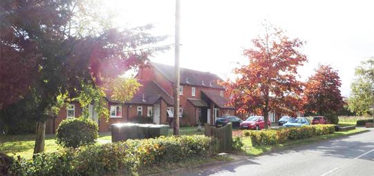 Autumn Alvechurch Almshouses