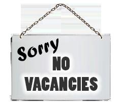 No Vacancies banner